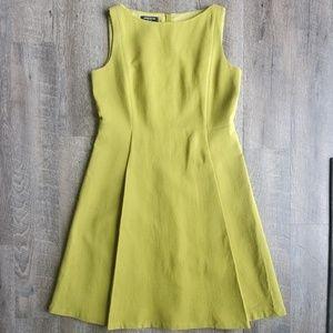 LAFAYETTE 148   Wool Sleeveless A-Line Dress   12